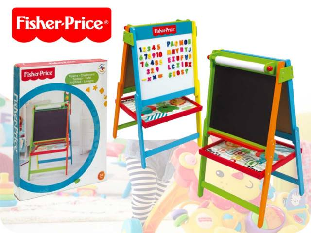 LAVAGNA MAGNETICA 53X48X93,5CM CON ACCESSORI FISHER PRICE