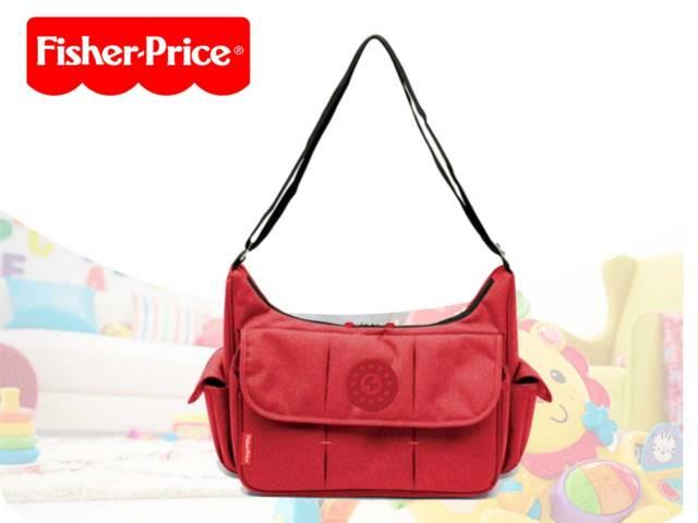 FP-MAMA BAG+ACC 39X14X30.5 RED