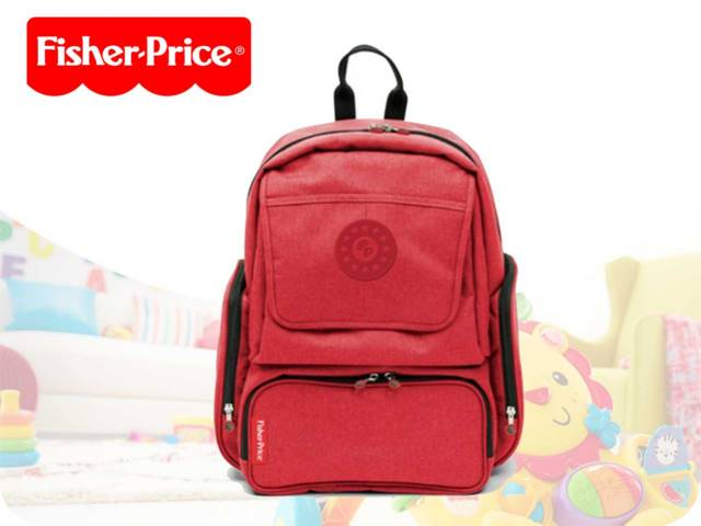 FP-MAMA BACKP+ACC 29.5X14X42.5 RED