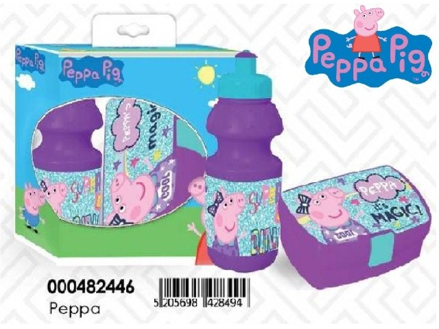 SET PORTAMERENDA-BORRACCIA PEPPA PH