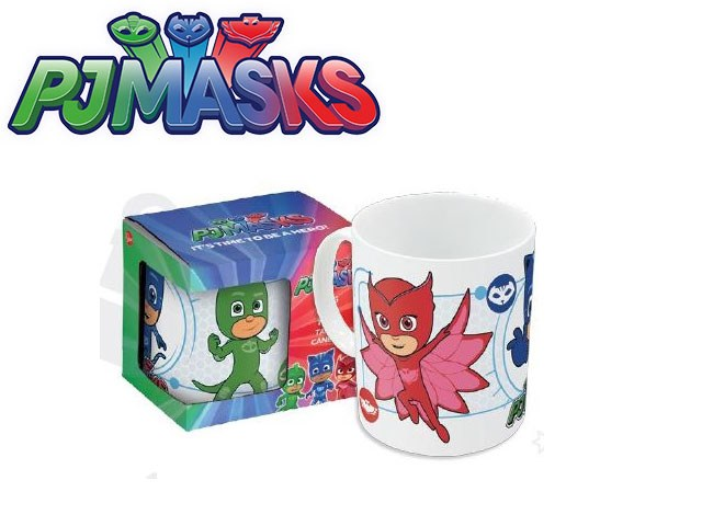 TAZZA CERAMICA IN BOX PJ MASKS