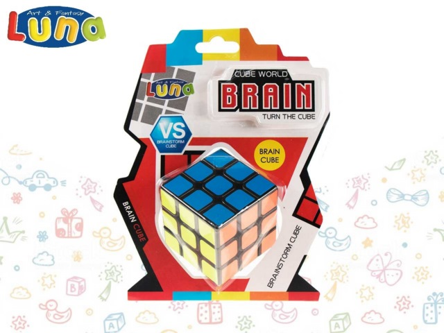 CUBO 3X3 IN BLISTER LUNA