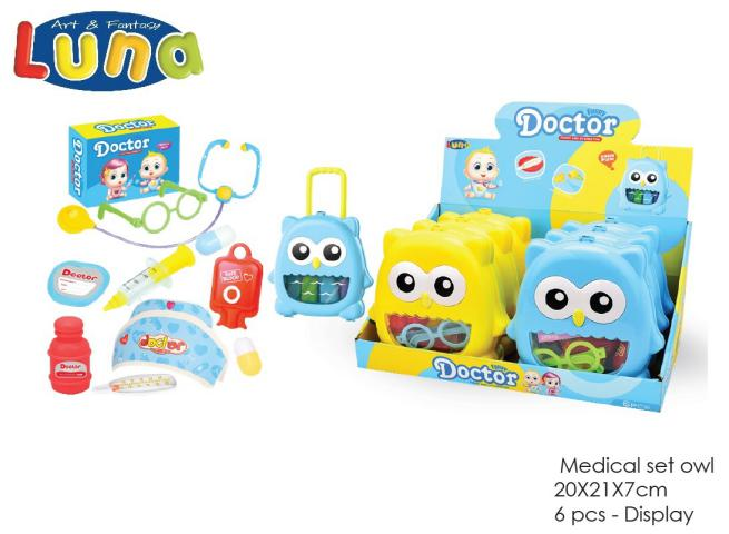 DISPLAY SET MEDICO 6 PCS LUNA