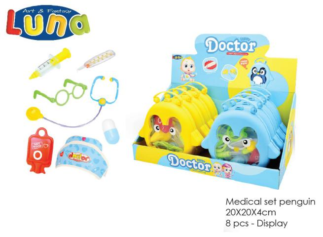 DISPLAY SET MEDICO 8 PCS LUNA