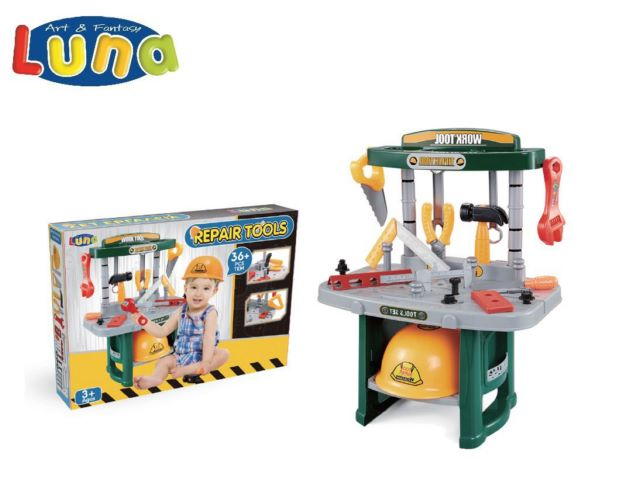 PLAY SET ATTREZZI 32X18X47CM LUNA