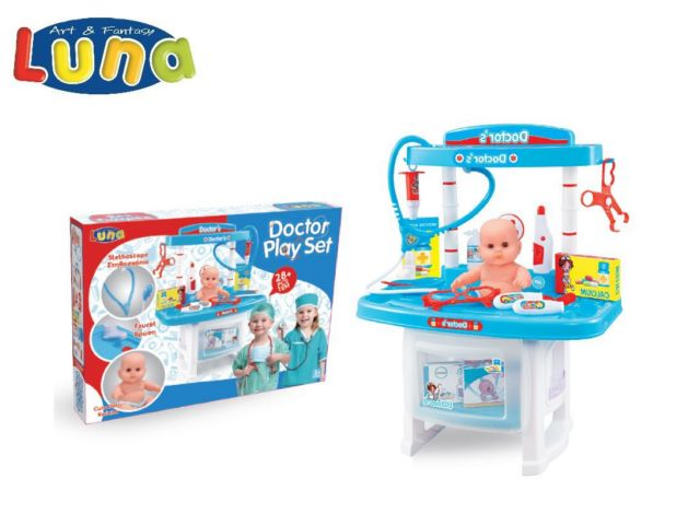 PLAY SET DOTTORE 32?18?47CM LUNA