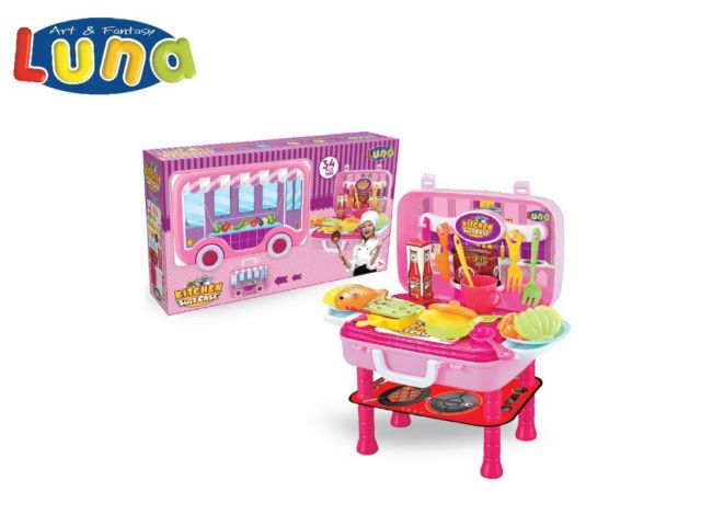 PLAY SET CUCINA 34,5X22X41CM LUNA