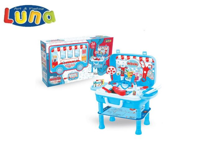PLAY SET DOTTORE 34,5X22X41CM LUNA