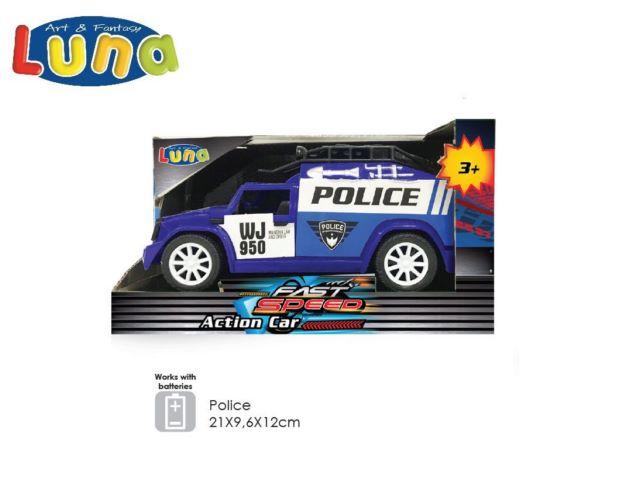 AUTO A FRIZIONE POLICE (B/O) LUNA
