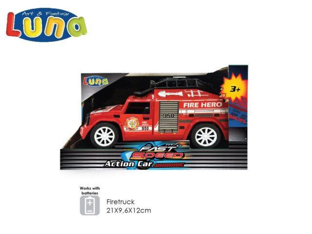 AUTO A FRIZIONE FIRETRUCK (B/O) LUNA