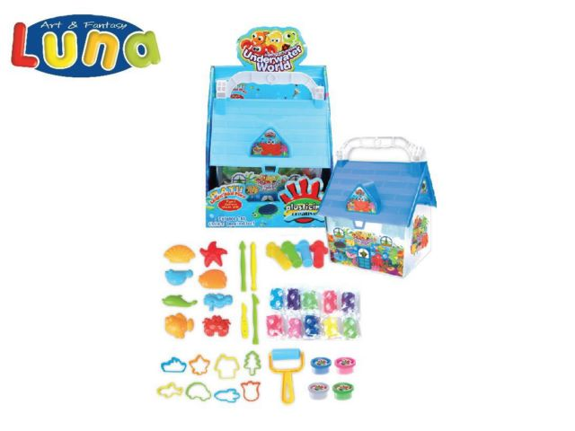 PLAY SET CON FORMINE E PLASTICHINA