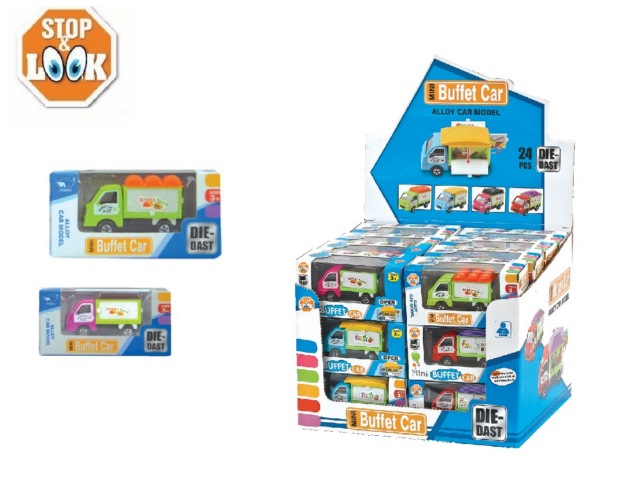 CAMION 10,5X4X5,3CM IN COLOR 4 MODELLI STOP & LOOK