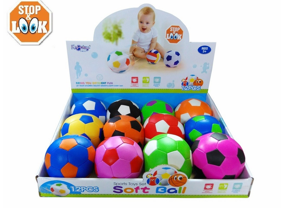 SOFT BALL 10CM STOP&LOOK