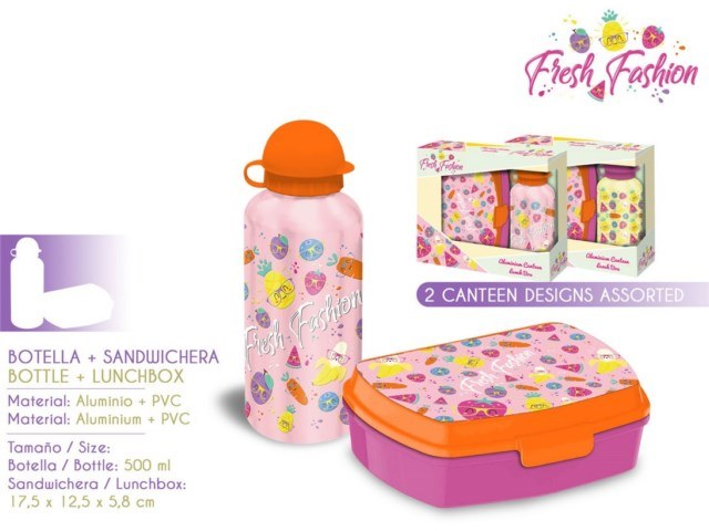 SET PORTACOLAZIONE+BORRACCIA ALLUMINIO FRESH FASHION PH