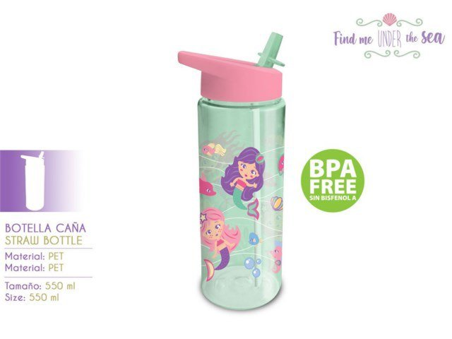 BORRACCIA CON CANNUCCIA 550ML SIRENA PH