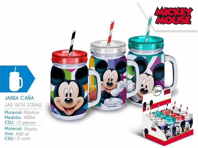 BOCCALE CON CANNUCCIA DISPLAY 12 U MICKEY PH