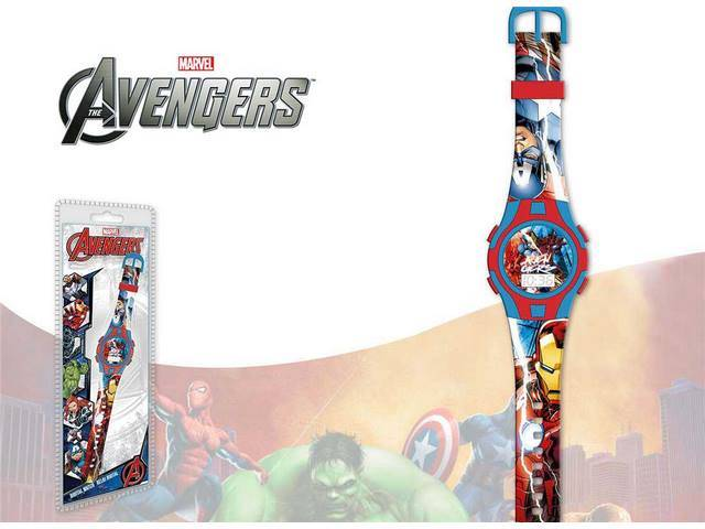 OROLOGIO DIGITALE NEW SPORT AVENGERS