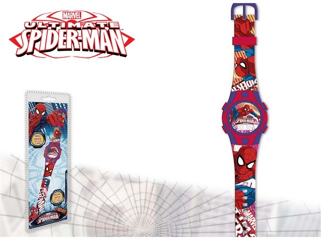 OROLOGIO DIGITALE NEW SPORT SPIDERMAN