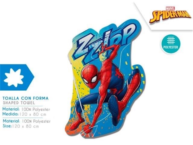 TELO CON FORMA 88X148 CM SPIDERMAN