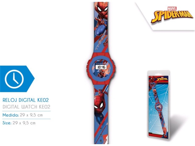 OROLOGIO DIGITALE KE02 SPIDERMAN