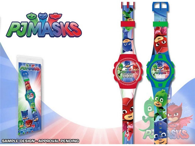 OROLOGIO SPORT DIGITALE  PJ MASKS