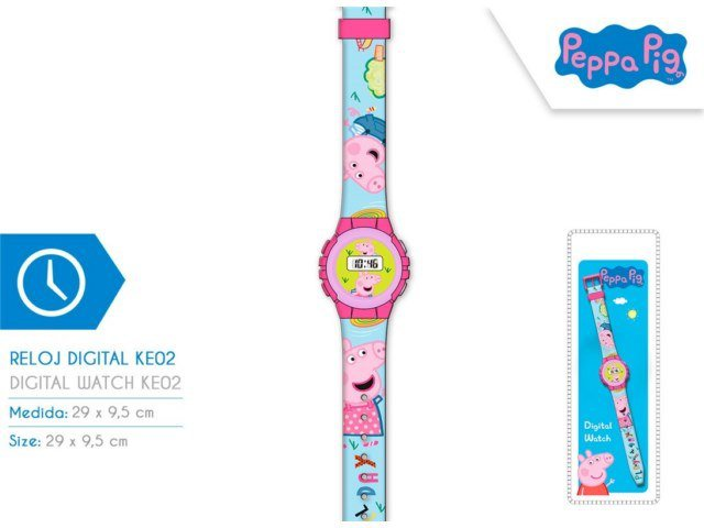 OROLOGIO DIGITALE PEPPA PIG