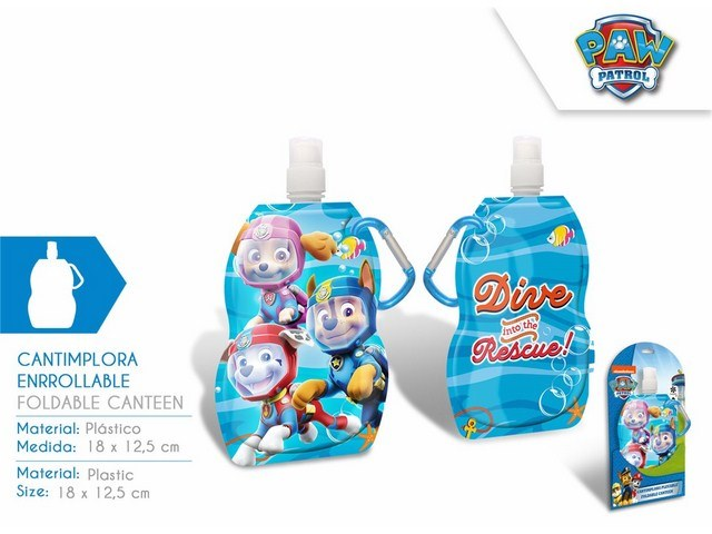 BORRACCIA MORBIDA 18X12,5CM PAW PATROL PH