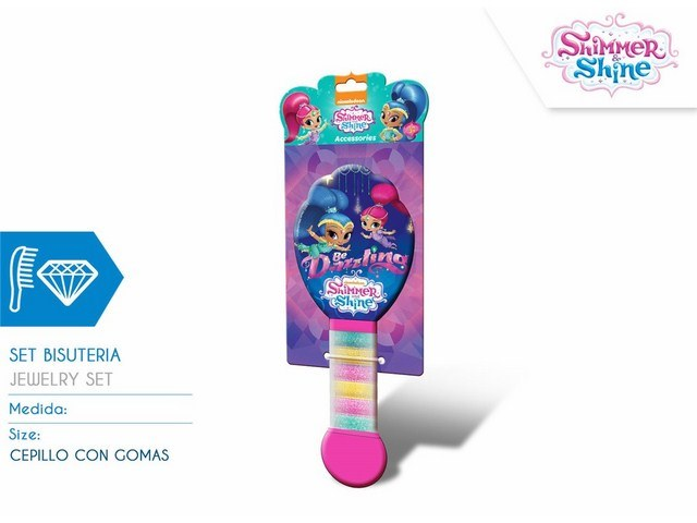 SPAZZOLA SHIMMER AND SHINE CON GOMME
