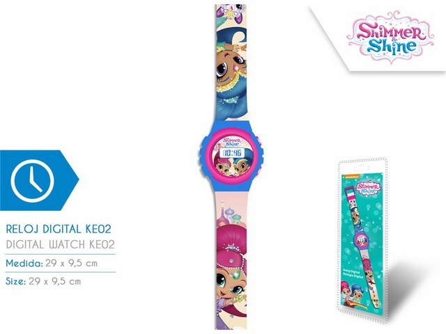 OROLOGIO DIGITALE KE02 SHIMMER AND SHINE