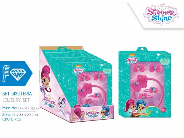 SET ACCESSORI CAPELLI SHIMMER AND SHINE