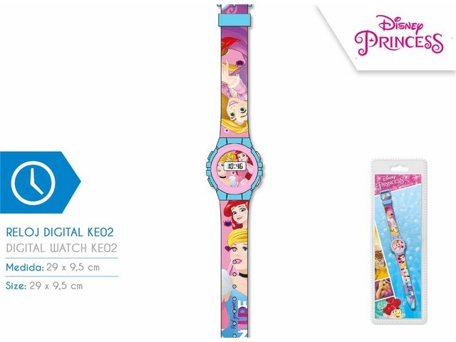 OROLOGIO DIGITALE KE02 PRINCESAS