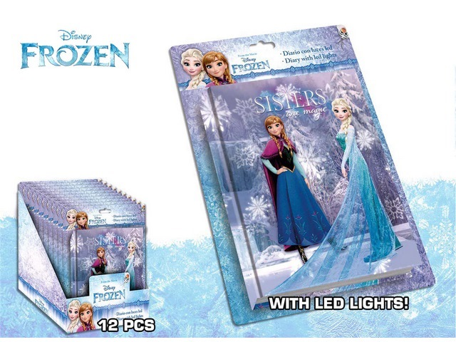 DIARIO LED FROZEN