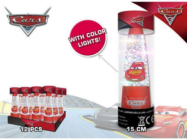 LAMPADA GLITTER CARS EN DISPLAY 12U
