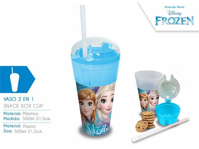 BICCHIERE CONTENITORE 2 IN 1 FROZEN PH