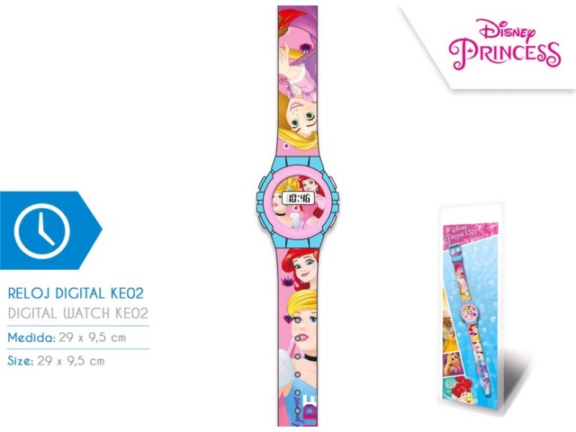 OROLOGIO DIGITALE KE02 PRINCESS