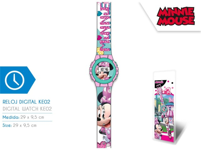 OROLOGIO DIGITALE IN BLISTER MINNIE