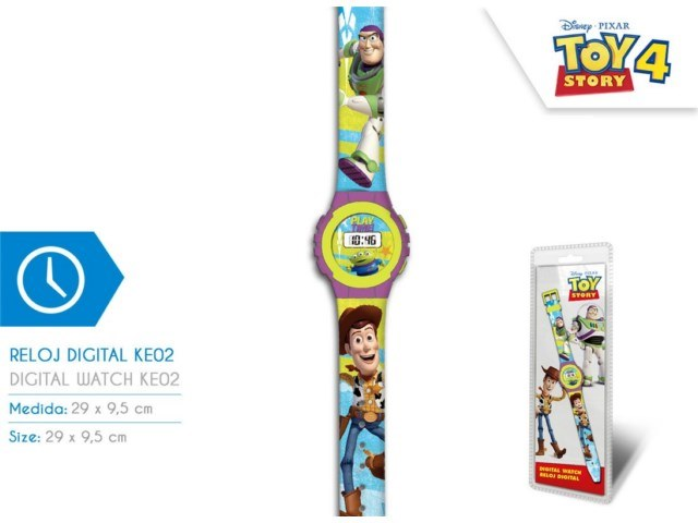 OROLOGIO DIGITALE TOY STORY 4
