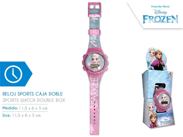 OROLOGIO DIGITALE FROZEN NEW SPORT IN DOPPIO BOX