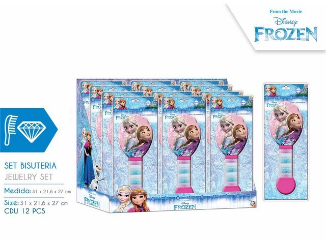 SPAZZOLA FROZEN CON GOMME