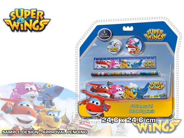 SET STATIONARY 5PZ IN CONFEZIONE 3D SUPER WINGS