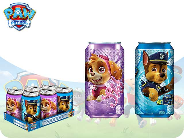 BORRACCIA ALLUMINIO TERMICA DISPLAY 6PZ PAW PATROL PH