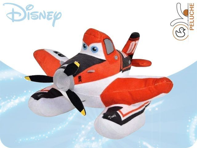 PLANES DUSTY FIRE peluche 25cm