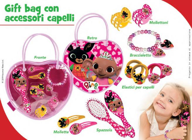 BORSETTA ACCESSORI CAPELLI 8 PZ BING