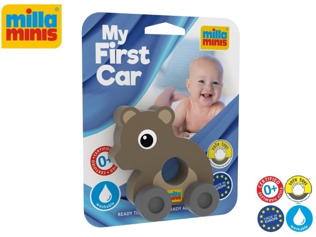 My First Car - Teddybear grey