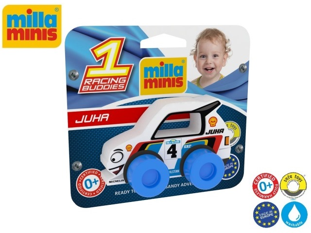 Racing Buddies - Juha 4 white