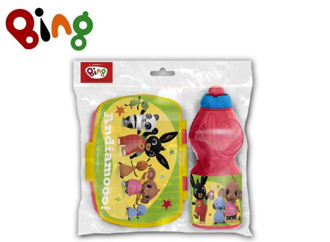 SET 2PZ PORTACOLAZIONE + BORRACCIA EASY BING PH