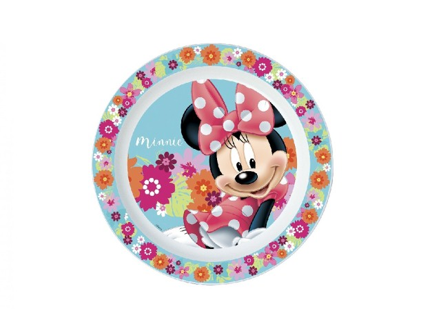PIATTO PIANO PP MICROW. MINNIE BABY PH