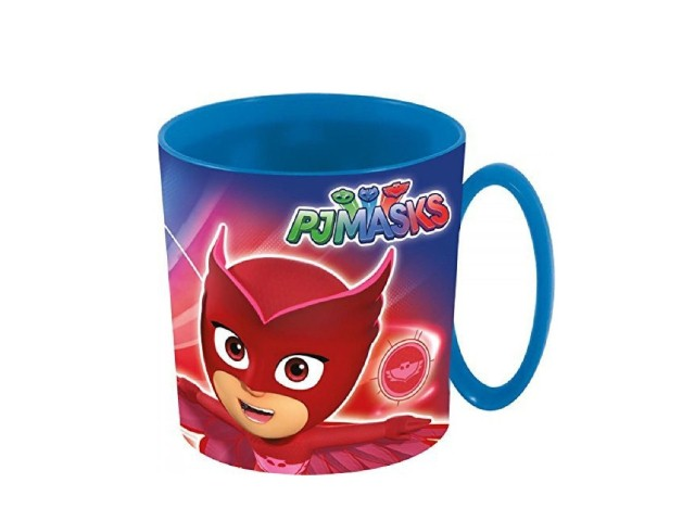 TAZZA MICROWAVE 360 ML PJ MASKS PH
