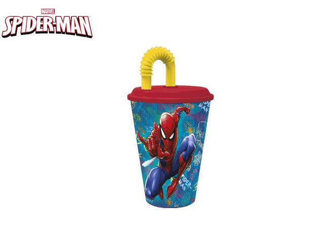 BICCHIERE SPORT 430 ML SPIDERMAN PH
