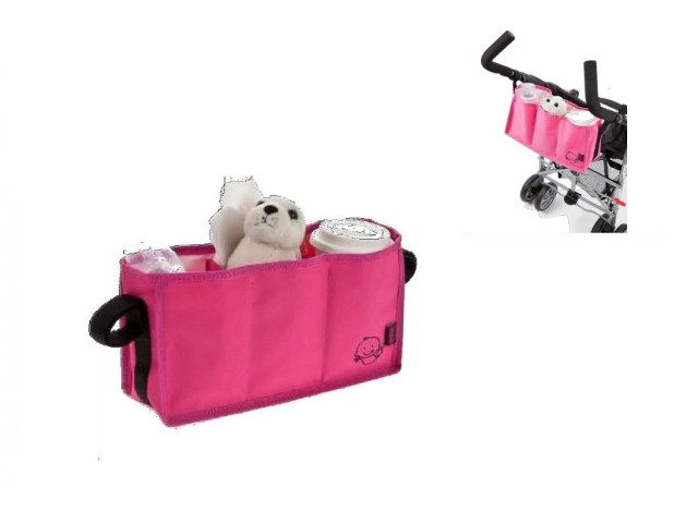 BORSA PER PASSEGGINO PINK BABY POLAR GEAR PH
